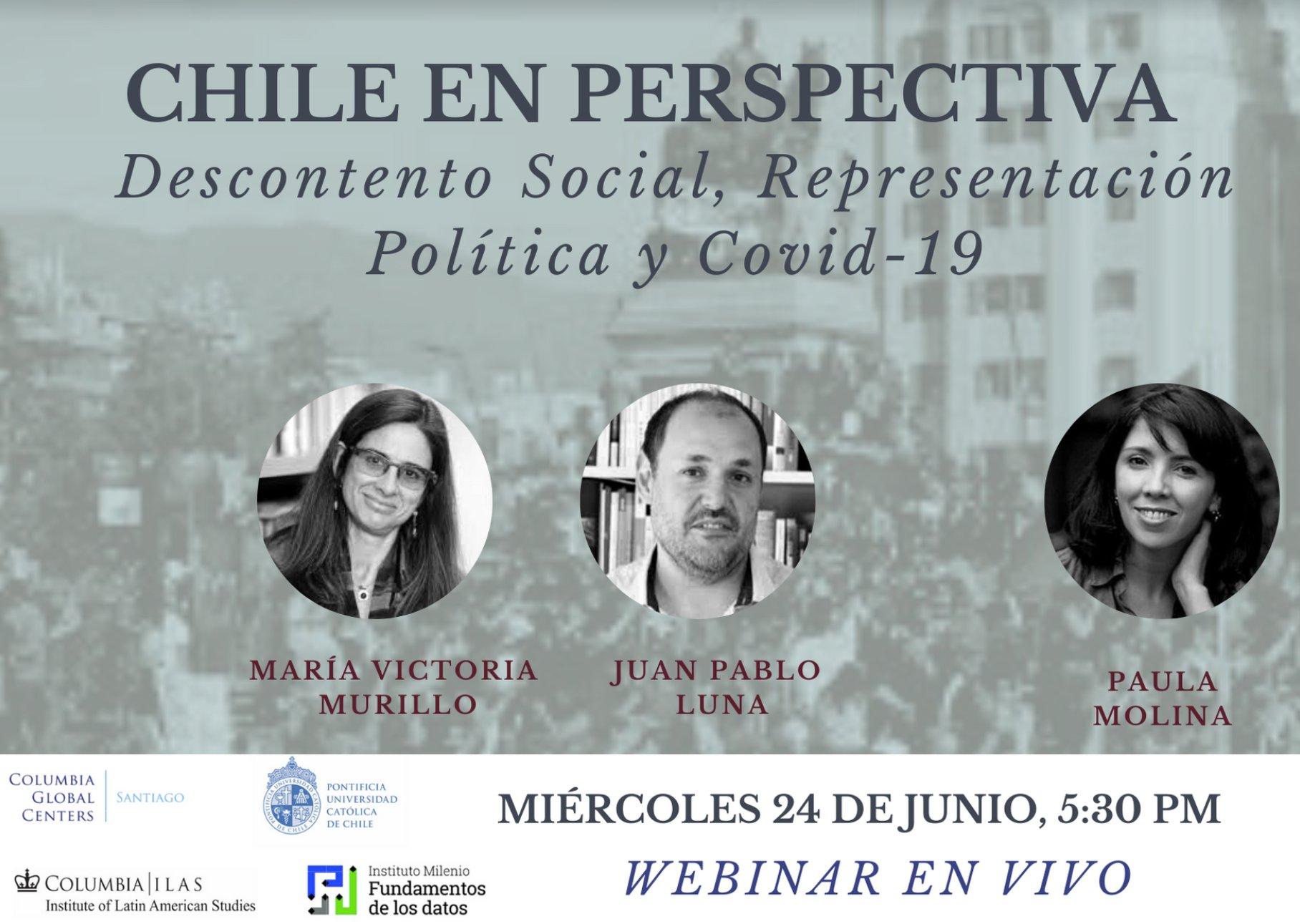 Chile en Perspectiva: Descontento Social, Representación Política y Covid-19