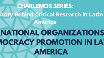 "Profesor Stefano Palestini participará en WEBINAR ""International Organizations and Democracy Promotion in Latin America"""