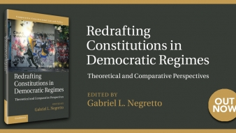 "Libro destacado: ""Redrafting Constitutions in Democratic Regimes"", profesor Gabriel Negretto"