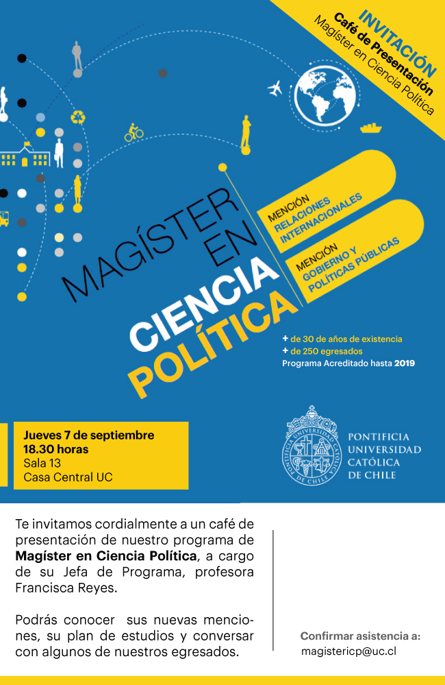 flyer cafe magister 2017