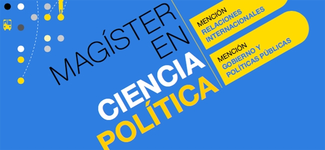 Magíster en Ciencia Política: postulaciones abiertas segundo semestre 2019