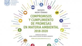 Presentan Reporte que mide cumplimiento de promesas en materia ambiental 2018-2020
